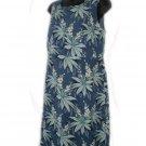 TOMMY BAHAMA Blue Tropical Flower Silk Dress 8