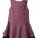 RING AROUND THE ROSIE Burgundy Pink Jumper Dress 4