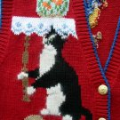 WINONA Red Blue Cat Vest M
