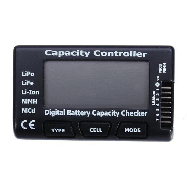CellMeter- LiPo LiFe Li-ion NiMH NiCd With Monitor Battery Capacity & Balance Checker
