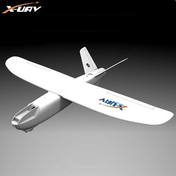 X-uav Mini Talon EPO 1300mm Wingspan V-tail FPV Plane Aircraft Kit