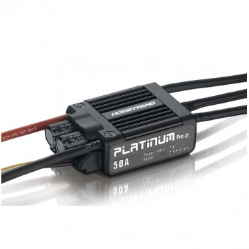 Hobbywing Platinum 50A V3 Esc Electronic Speed Controller