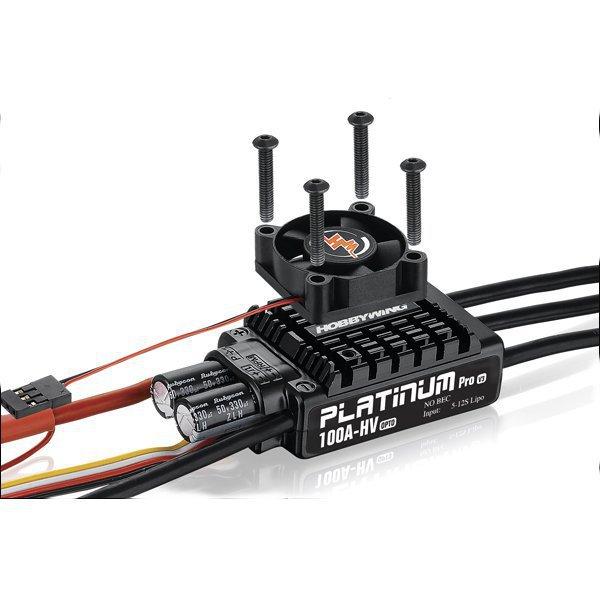 HobbyWing Platinum-100A-HV-V3 Brushless ESC For RC Models