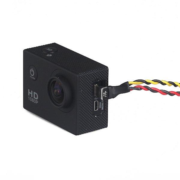 SJ4000 SJ6000 XiaoMi XiaoYi Camera AV Video Output And Charging Cable