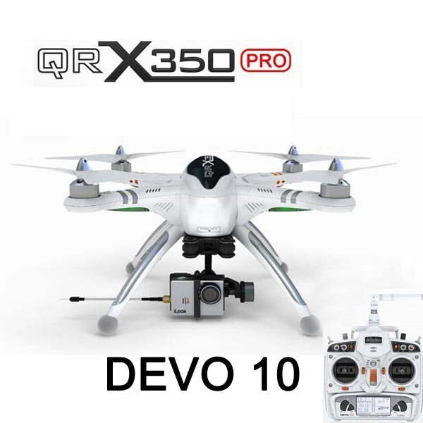 Walkera QR X350 Pro FPV GPS RC Quadcopter DEVO 10 For Gopro 3 RTF