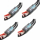 4 Pcs FLYCOLOR Simonk Series 2-4S 20A UBEC 5V/0.5A Output Brushless ESC