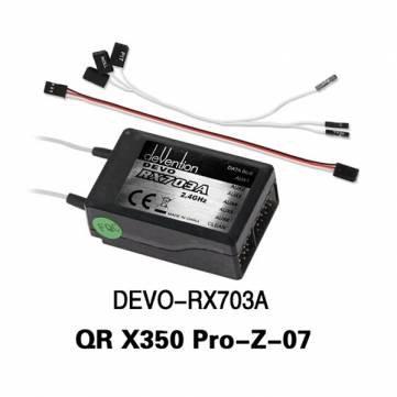 Walkera QR X350 Pro RC Quadcopter Receiver DEVO-RX703A