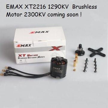EMAX XT2216 1290KV  Brushless Motor-Sold Out !