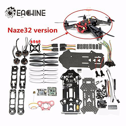 Eachine Racer 250 DIY Kit CC3D w/ 600MW 5.8G 32CH transmitter -Sold Out ! -