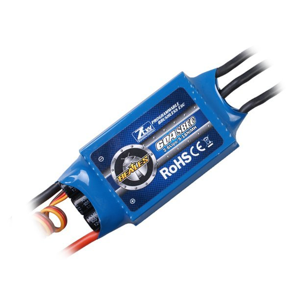 ZTW Beatles 60Amp ESC Brushless Speed Controller For RC Airplane