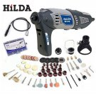 HILDA 220V 170W Variable Rotary Tool Electric Mini Drill with Flexible Shaft
