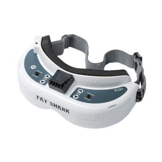 Fatshark Fat Shark Dominator HD3 HD V3 4:3 FPV Goggles Headset with HDMI DVR