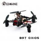 Eachine BAT QX105 w/ AIOF3 BRUSHED OSD 600TVL CAM 1020 Motor Buzzer Micro FPV Racing Quadcopter BNF