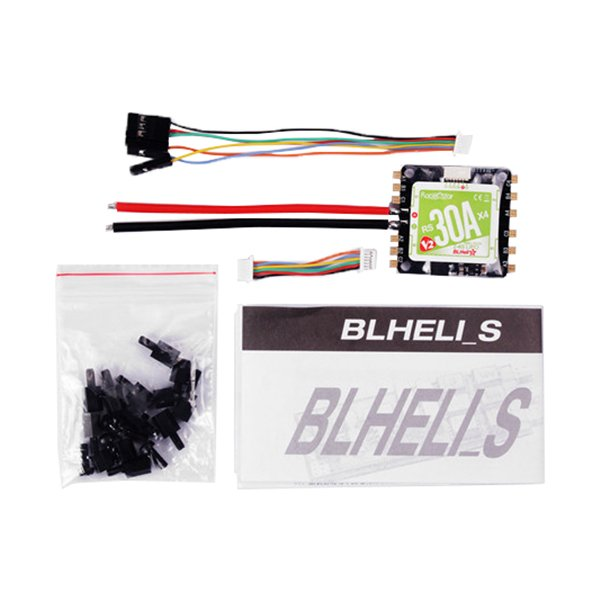 Racerstar RS30x4 30A Blheli_S 2-4S 4 in 1 Brushless ESC with 5V 3A SBEC for FPV Racing