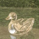 Art Glass Duck Paper Weight