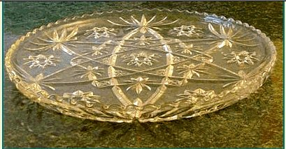 "EAPC Star of David  13 1/2"" Platter"