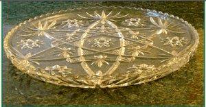 """EAPC Star of David  13 1/2"""" Platter"""