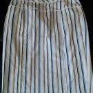 sz 4 women's Express Design Studio striped skirt