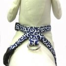 Dog KARAKUSA Harness Navy Blue M size