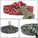 Japanese dog KARAKUSA Leash Red M size