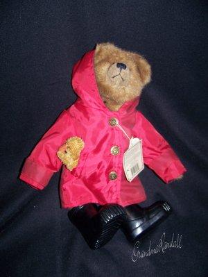 Boyds Bears Noah with Puddles Stuffed Bears