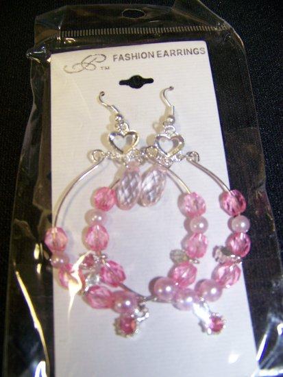 Dangled, Chandelier, Hoop, Ear Rings Costume Jewelry
