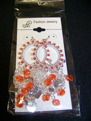 Costume Jewelry Chandelier Dangle Ear Rings