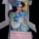 Anita a Pretty Porcelain Collectible Doll From the Cathay Collection