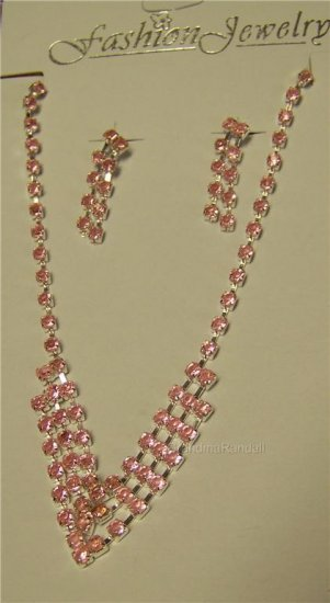 Fashion Jewelry Necklace and matching earring set