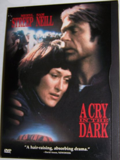 Warner Bros.,DVD, Drama,Meryl Streep and Sam Neill in A Cry In The Dark
