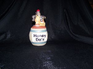 Barrel of Laughs Trinkets Jar