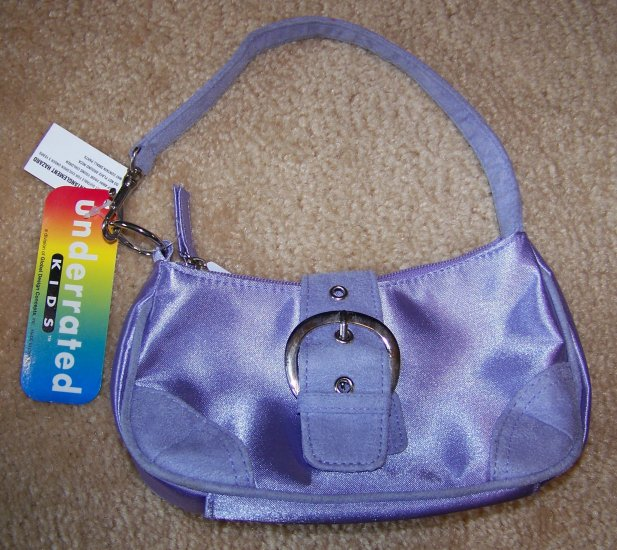 Cute Purple Girls Purse