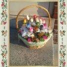 Floral Handcrafted Gardenia & Rosebud Arrangement