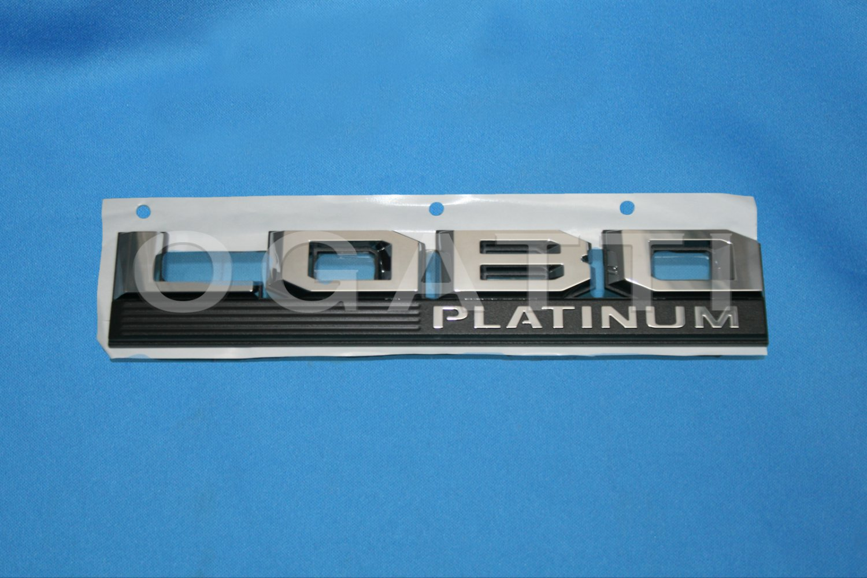 Brand New Ford OEM F-150 Lobo Platinum 2014-2015 Fender Emblem LH FL3Z-16720-T