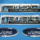 Brand New Ford OEM F-150 Platinum 2014-2015 4 Piece Emblem Set