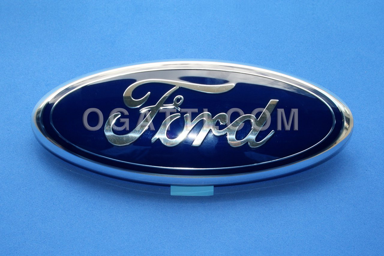 Brand New Ford OEM F-150 Front Grille and Tailgate Oval Emblem 4L3Z-1542528-AB