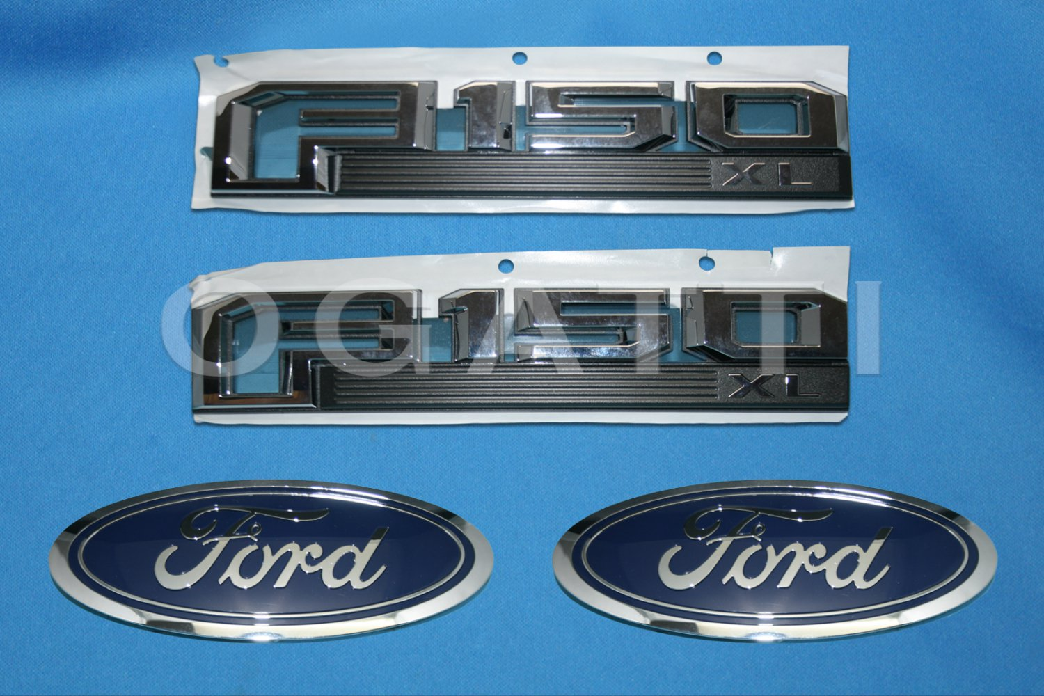 Brand New Ford OEM F-150 XL 2014-2015 4 Piece Emblem Set