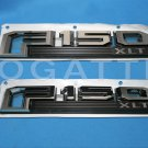 Brand New Ford OEM F-150 XLT 2014-2015 2 Piece Emblem Set