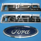 Brand New Ford OEM F-150 XLT 2014-2015 3 Piece Emblem Set