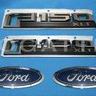Brand New Ford OEM F-150 XLT 2014-2015 4 Piece Emblem Set