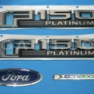 Brand New Ford OEM F-150 Platinum Ecoboost 2014-2015 4 Piece Emblem Set
