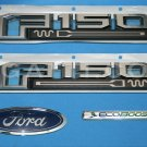 Brand New Ford OEM F-150 King Ranch Ecoboost 2014-2015 4 Piece Emblem Set
