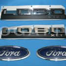 Brand New Ford OEM F-150 Lobo XLT 2014-2015 4 Piece Emblem Set
