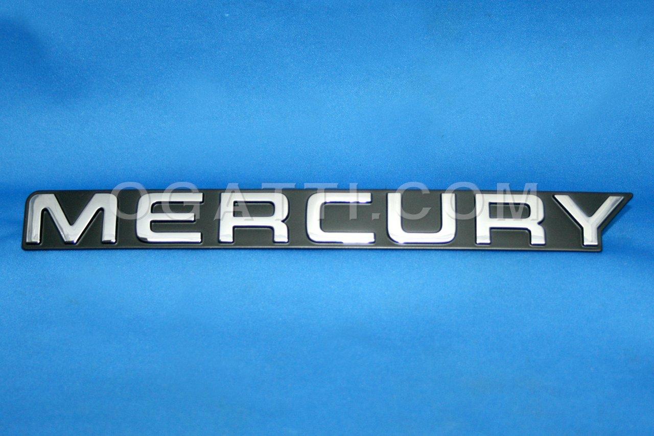 Brand New Ford OEM Mercury 1992-1995 Luggage Emblem F24Y-5442528-B