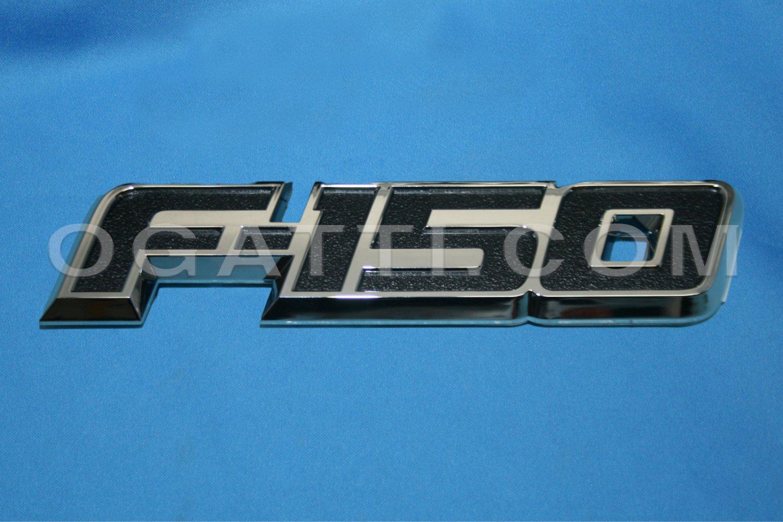 Brand New Ford OEM F-150 2012-2014 Front Driver Fender Emblem LH DL3Z-16720-B