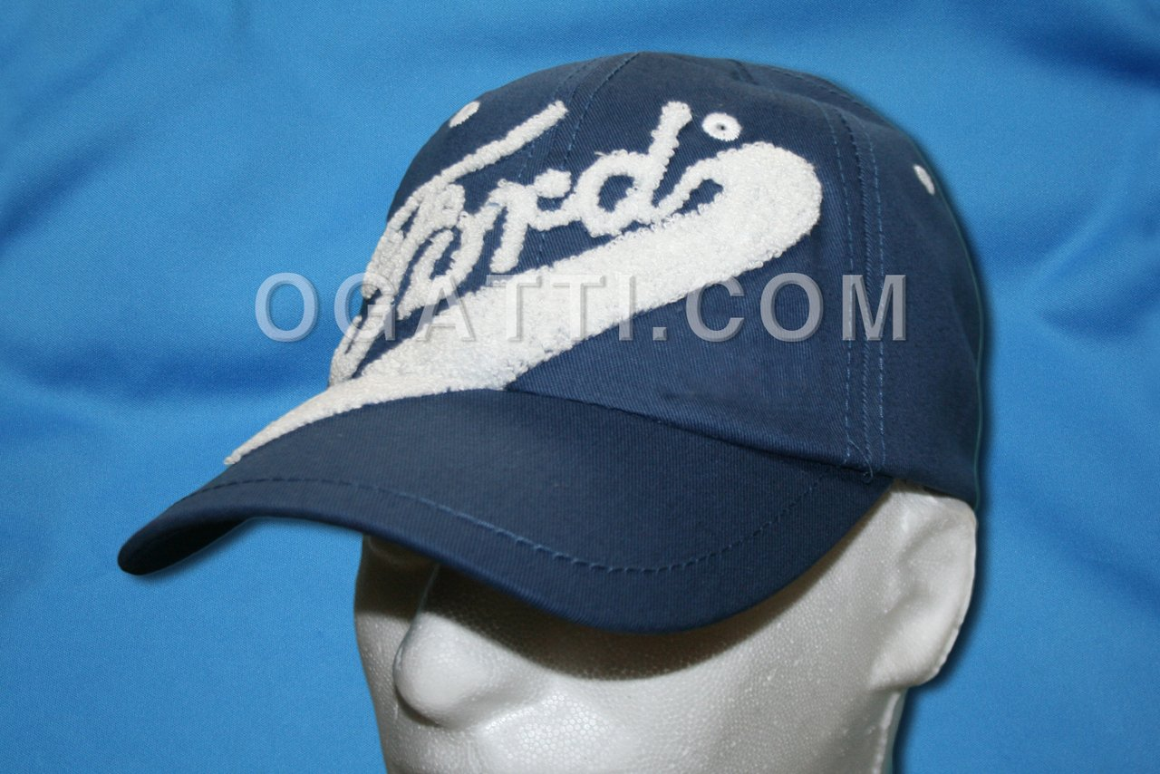 HAT FORD BUILT TOUGH YOUTH CHENILLE HAT BLUE 1901-2013 #1012301