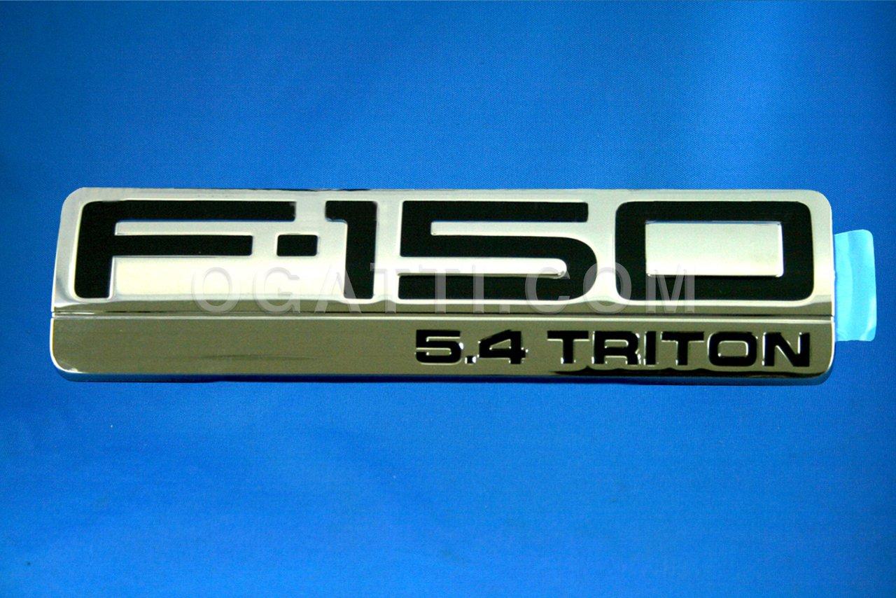 Brand New Ford OEM F-150 5.4 Triton 2004-2008 Fender Emblem 4L3Z-16720-GA
