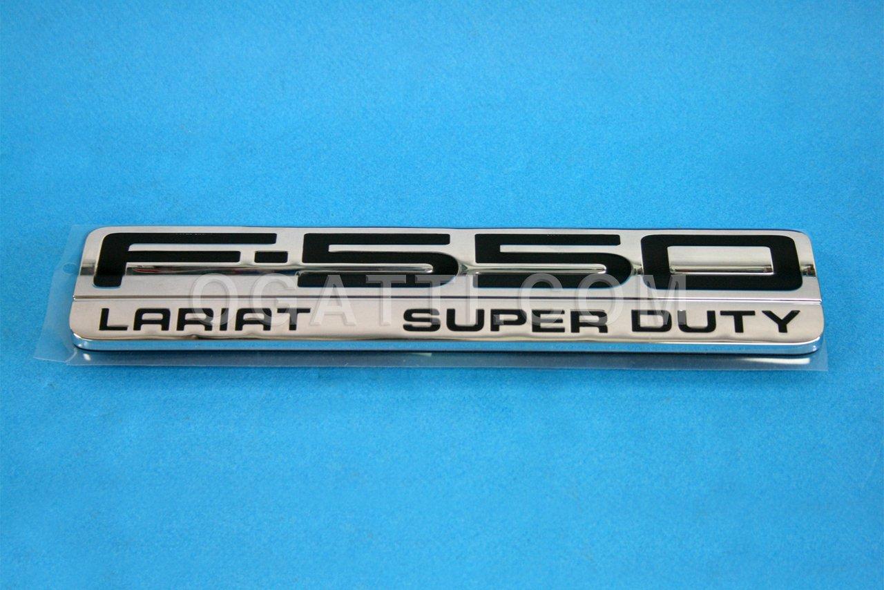 Brand New Ford OEM F-550 Lariat Super Duty 2005-2007 Fender Emblem 5C3Z-16720-BB