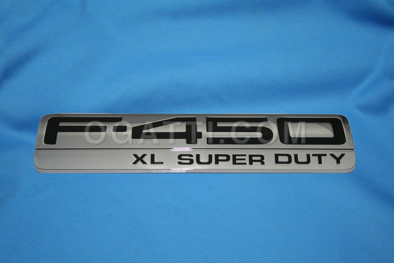 Brand New Ford OEM F-450 XL Super Duty 2005-2007 Fender Emblem 5C3Z-16720-PA