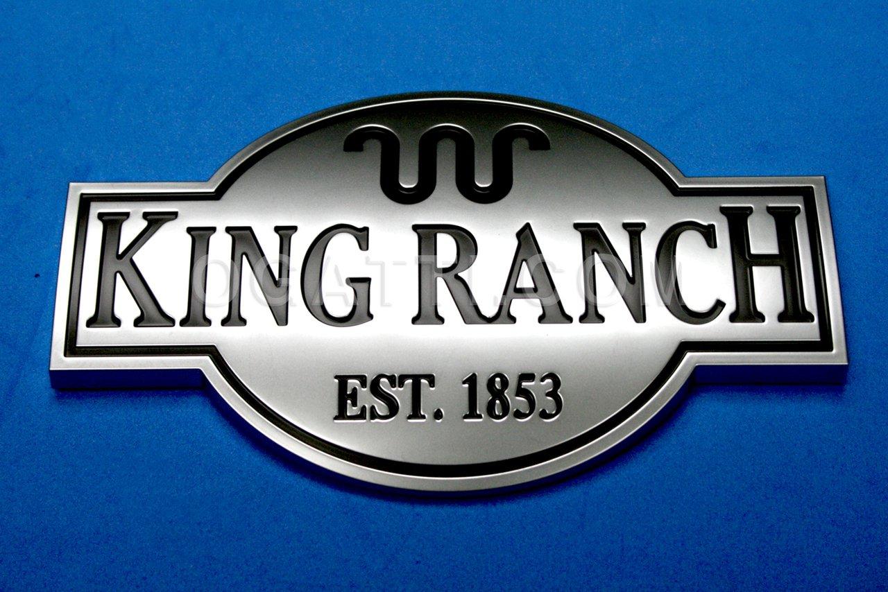 Brand New Ford OEM Expedition King Ranch EST. 1853 2005-2014 Fender Emblem 5L1Z-16720-AA